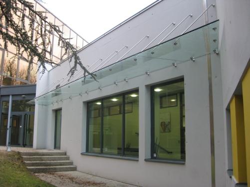 Auvent vitré (2)