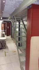 Escalier en acier anti-rouille