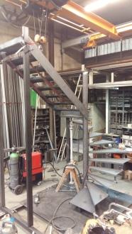 Escalier en atelier