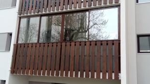 Fermeture balcon alu