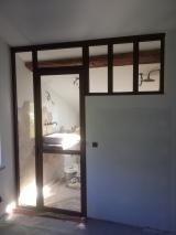 Porte vitrée intérieure