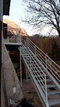Escalier extérieur acier (3)
