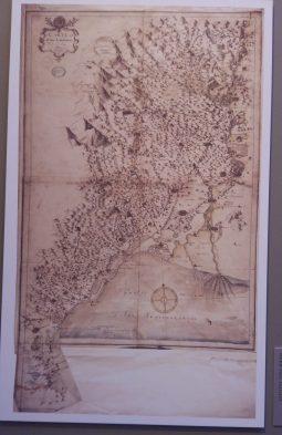 Carte manuscrite de Jean de Beins