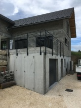 Garde-corps de terrasse