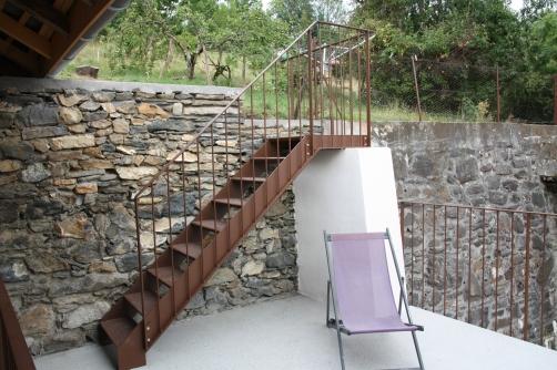 Escalier d extérieur
